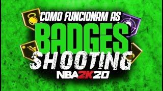 NBA 2K20 Dicas #02: COMO FUNCIONAM AS BADGES DE SHOOTING!
