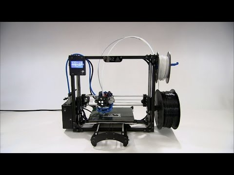 Watch How 3D Printers 3D-Print 3D Printer Parts To Make More 3D Printers