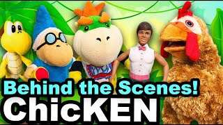SML Movie: ChicKEN (DANGEROUS HOUSE FIRE) Behind the Scenes