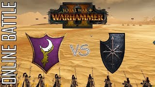 DARK ELVES Vs CHAOS! - 2v2 Online Battle Total War: Warhammer 2