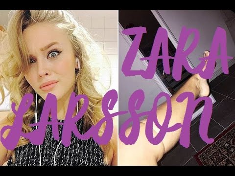 Zara Larsson Funny Moments 2016