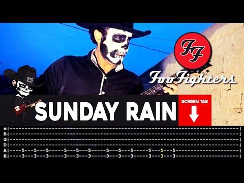 Foo Fighters - Sunday Rain (Guitar Cover by Masuka W/Tab)