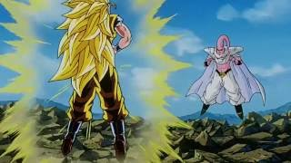 Goku ssj 3 vs Super Buu (Gotenks absorbido)