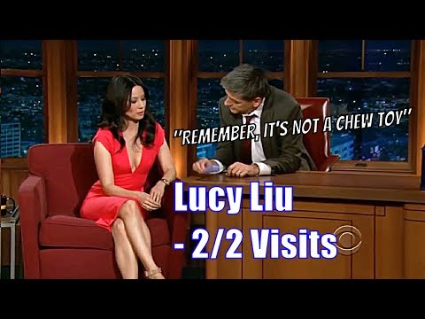Lucy Liu - Craig Teaches Her The Harmonica - 2/2 Appearances + A Sketch [HD]