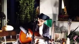 """La bella dama senza pietà - Live Gian Piero Milanetti 12.04.2015 """"Marmo"""" Roma, piazzale Verano"""