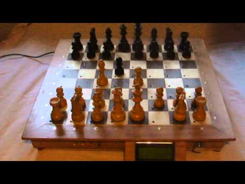 This DIY Chess Board Lets You Play Against A Machine On A Real Board