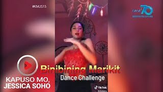 Aired (June 21, 2020): Kanya-kanyang flex ng dancing skills ngayon ang mga TikTokerist! Pati beauty queens, celebrities at mga tatay, hindi nagpahuli! Ang isa, sinamahan pa ang dance moves ng pagka-cartwheel?! Hataw!  'Kapuso Mo, Jessica Soho' is GMA Network's highest-rating magazine show. Hosted by the country's most awarded broadcast journalist Jessica Soho, it features stories on food, urban legends, trends, and pop culture. 'KMJS' airs every Sunday, 8:25 PM on GMA Network.  Subscribe to youtube.com/gmapublicaffairs for our full episodes. #KMJS15   Watch the latest episodes of your favorite GMA Public Affairs shows #WithMe. Stay #AtHome and subscribe to GMA Public Affairs' official YouTube channel and click the bell button to catch the latest videos.  GMA Network promotes healthy debate and conversation online.  Any abusive language that does not facilitate productive discourse will be blocked from this post.      GMA Network upholds ethical standards of fairness, objectivity, accuracy, transparency, balance, and independence.   Walang Kinikilingan, Walang Pinoprotektahan, Serbisyong totoo lamang.   Subscribe to the GMA Public Affairs channel: https://www.youtube.com/user/gmapublicaffairs  Visit the GMA News and Public Affairs Portal: http://www.gmanews.tv  Connect with us on: Facebook: http://www.facebook.com/gmapublicaffairs/ Twitter: http://www.twitter.com/gma_pa