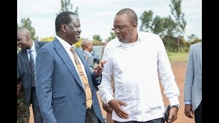 Handshake will save our legacies: Raila - VIDEO