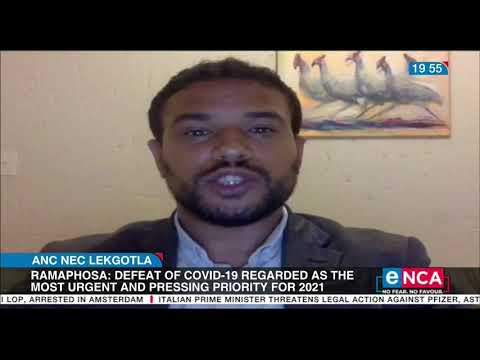 ANC NEC Lekgotla Ramaphosa closes the three day meeting