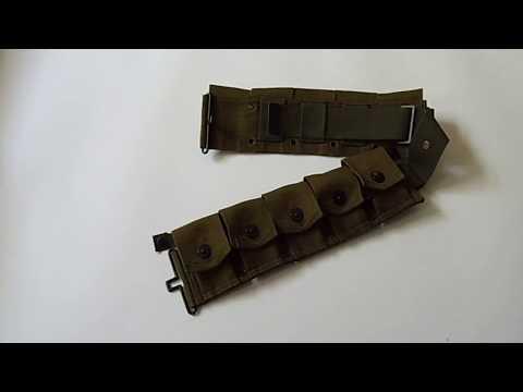Review a 10 pockets U.S. army Bar Belt