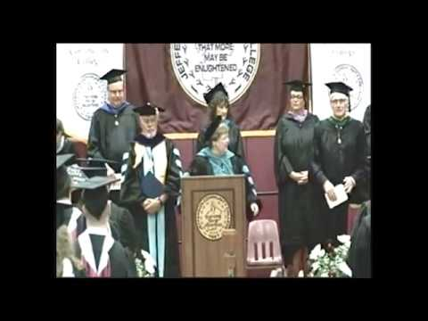 Commencement Ceremony Spring 2017 - Closing