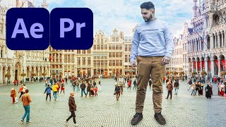 How To Become a HUGE Giant with Premiere Pro or After Effects