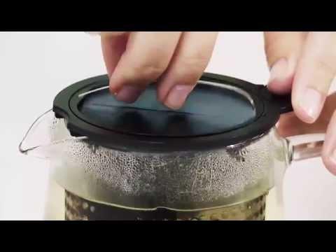 samova Teekanne 0,4l mit Brew Stop Filter