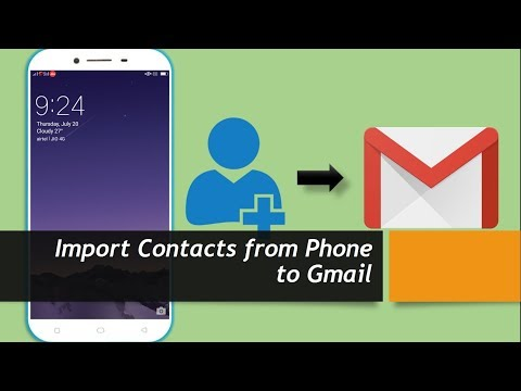 How to Import Contacts from Phone to Gmail