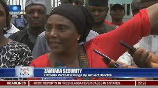 Zamfara Citizens Protest Killings By Armed Bandits
