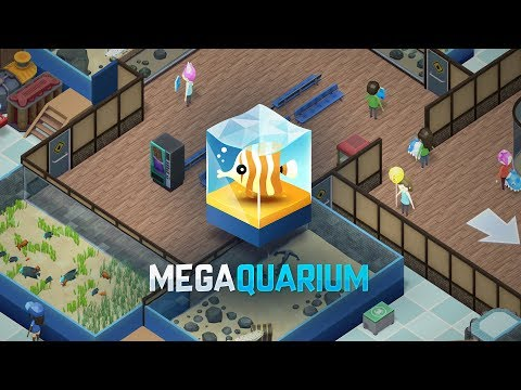 Megaquarium - The aquarium tycoon game! Release Date: 13th September 2018 thumbnail