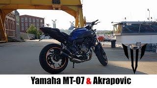 yamaha mt-07 akrapovic exhaust - मुफ्त ऑनलाइन