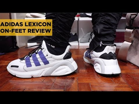 ADIDAS LEXICON (LXCON) ON FEET REVIEW AND UNBOXING (IS IT WORTH YOUR MONEY?)