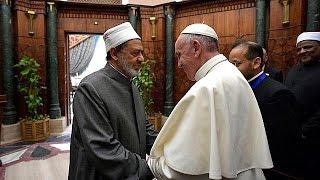 Pope Francis denounces religious fundamentalism across Middle East