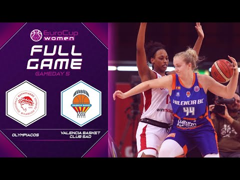 Olympiacos v Valencia Basket Club SAD – Full Game -EuroCup Women 2019-20