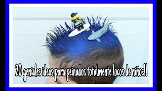 Peinados Locos Para Ninos Hombres Free Video Search Site