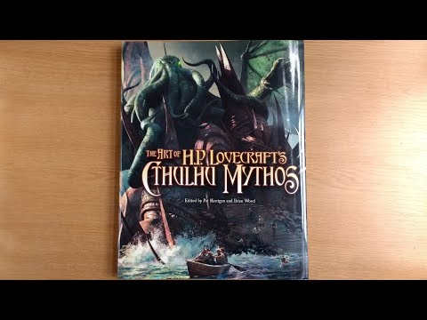 An Arkham Files Art Book? The Art Of H.P. Lovecraft's Cthulhu Mythos - Book Overview