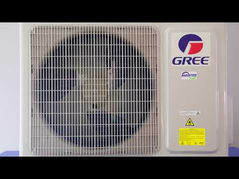 GREE AMBER INVERTER NEW 2017 GWH18YE-S6DBA2A Video #1