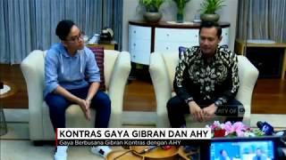 Kontras Gaya Gibran & AHY di Istana Pasca Bertemu Presiden Jokowi