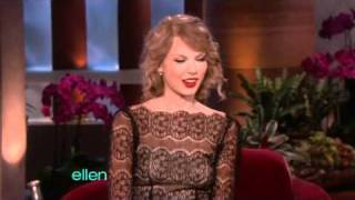 Taylor Swift- Interview - Ellen Degeneres Show (11/01/10)