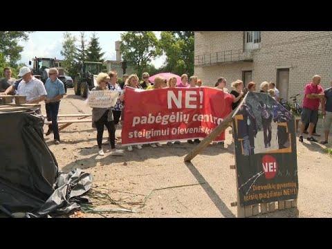 Λιθουανία: Διαδηλώσεις για το μεταναστευτικό