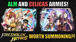 Fire Emblem Heroes: Alm's Army & Celica's Army! Are They Worth Your Orbs?!