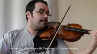 1717. Memories of a Journey to Italy. #Variations. Vivaldi and Montanari