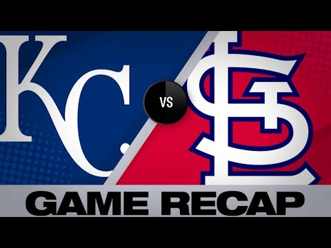 5/22/19: Ozuna, Wong lead Cardinals past Royals