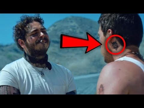 7 secrets you missed in post malone quot goodbyes quot