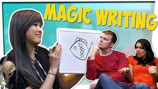 Crazy Brain Teaser!   Magic Writing