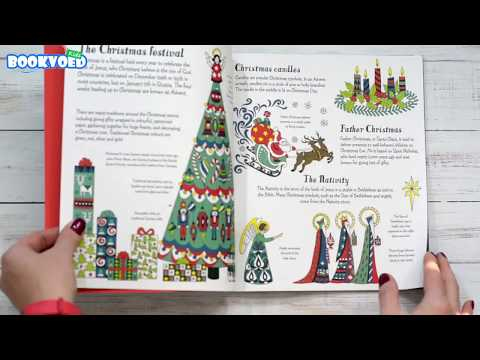 Видео обзор Christmas patterns to colour