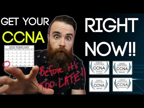 Get your CCNA RIGHT NOW!! (before the new CCNA 200-301 ...