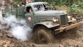 ЗИЛ-157 УАЗ-469 19. Nutz- und Militärfahrzeugtreffen Cottbus 2019