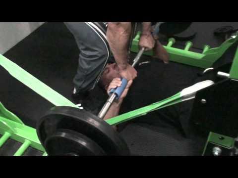 Hantle wyciskaniu na zboczu mięśni