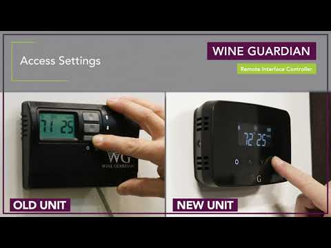 Video thumbnail for Wine Guardian Remote Interface Controller Trouble Shooting