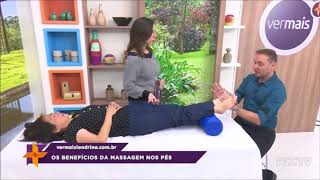 Saiba os benefícios da massagem nos pés