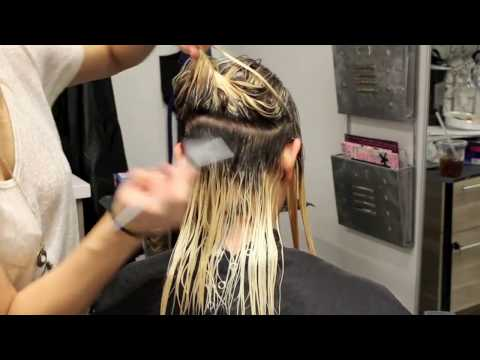 shadow root toning and color melting