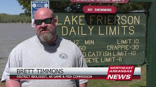 Arkansas Game and Fish Commission Launches Lake Frierson Project