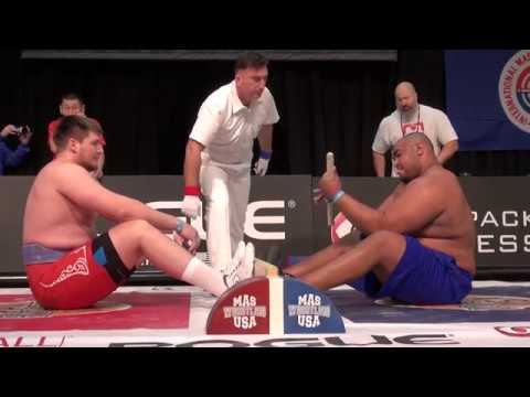 Mas-Wrestling World Absolute Championship - 2017. Sergey Frolkin (RUS) vs Ulice Payne (USA)