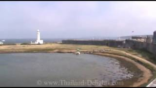preview picture of video 'Hurst Castle, Hurst Spit, Near Keyhaven and Milford on Sea, Hampshire, England. ( 5 )'