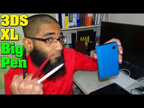 Nintendo DSi XL Pen Stylus Unboxing and Quick Review  - 3DS XL Big Pen