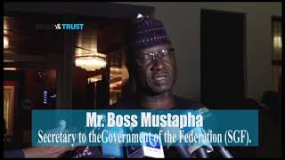 SGF Boss Mustapha talks on President Buhari''s meeting with NASS leaders
