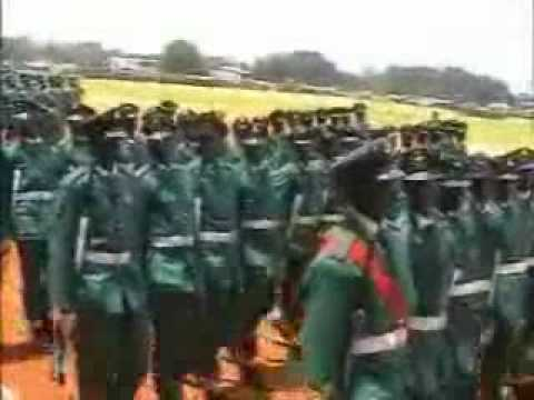 Nigerian Army Pass in Review