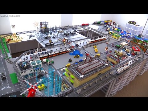 OLD Video! Updates on my channel! JANGBRiCKS custom LEGO city: FINAL update?!