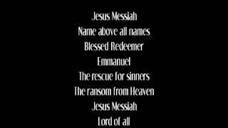 Jesus Messiah - Chris Tomlin (with lyrics)